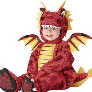 Baby dragon costume — 18-24m